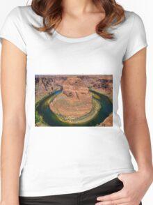 Horseshoe Bend Arizona Women's Fitted Scoop T-Shirt