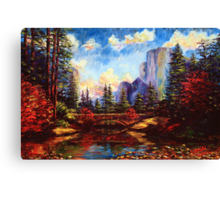 The Bridge in Yosemite Canvas Print