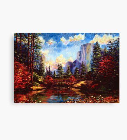 The Bridge in Yosemite Canvas Print