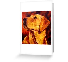 Labrador Dignity Greeting Card