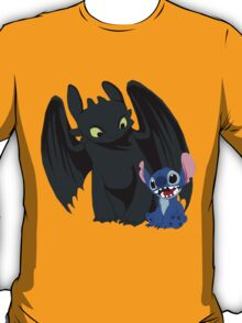 Stitch and Toothless T-Shirt