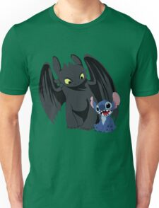 Stitch and Toothless Unisex T-Shirt