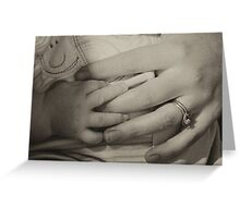 safe attachment Greeting Card
