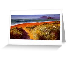 Oregon Path on the Pacific Greeting Card