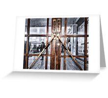 Edgware Tube Station Greeting Card