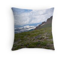 Colorado Hills Throw Pillow