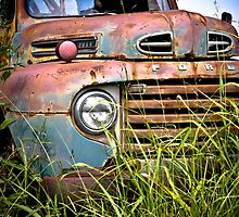 Old Ford Truck by Jim Felder