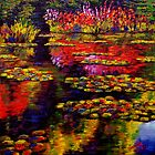 Flowers by Monet&#x27;s Pond (1502) by sesillie