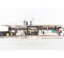 Elm Park Tube Station Photographic Print