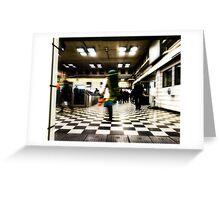 Embankment Tube Station Greeting Card