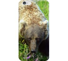 Brown eyed beauty iPhone Case/Skin
