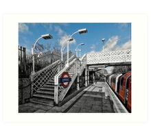 Epping Tube Station Art Print