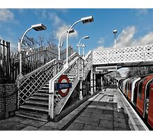 Epping Tube Station Photographic Print