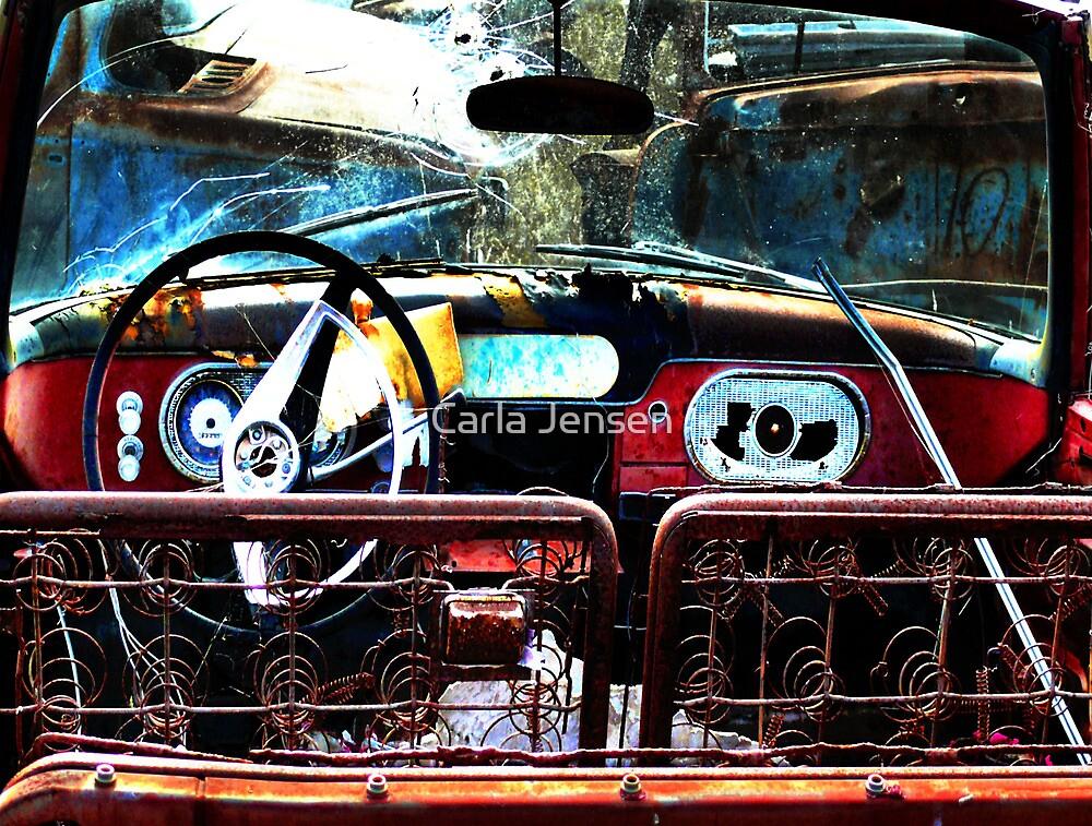 Back Seat Driver  ( BoneYard Series ) by Carla Jensen