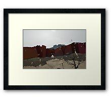 no man's town Framed Print