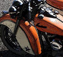 Orange Indian by Libre-oiseau