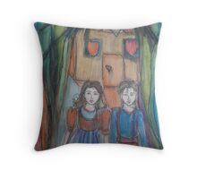 Hansel & Gretel Throw Pillow