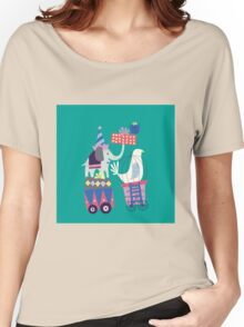 Fun Circus Elephant Women's Relaxed Fit T-Shirt
