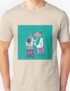 Fun Circus Elephant Unisex T-Shirt