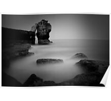 Pulpit Rock, Portland Bill, Dorset Poster