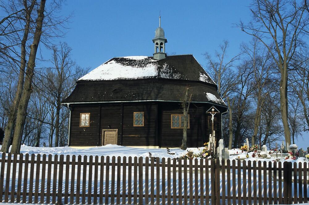 Wooden Church by Kasia Nowak