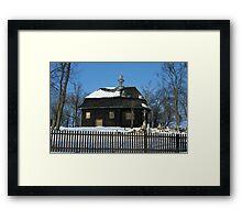 Wooden Church Framed Print