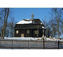 Wooden Church Photographic Print