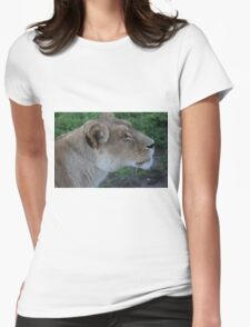 Just Give Me The Food, Don't Make Me Beg. Womens Fitted T-Shirt