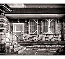 Fairlop Tube Station Photographic Print