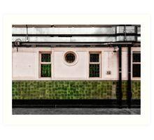 Farringdon Tube Station Art Print
