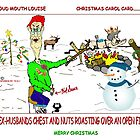 CHRISTMAS CAROL CARD by URBANRATS