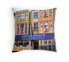 Nellie Deans Throw Pillow
