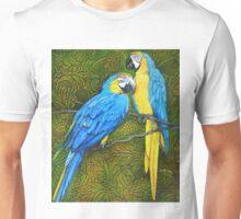 Painted Parrots Unisex T-Shirt