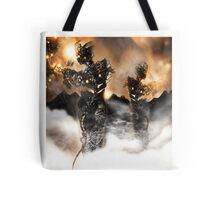 Mechanised Desert wanderers [Digital Figure Illustration] Version 2 Tote Bag