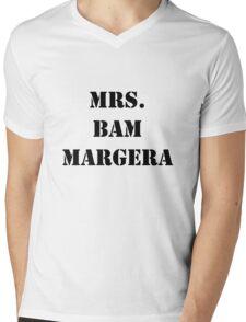 Mrs. Bam Margera Mens V-Neck T-Shirt