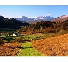 Snowdon Horseshoe Photographic Print