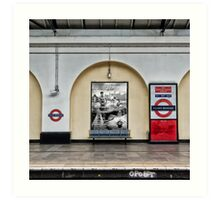 Fulham Broadway Tube Station Art Print