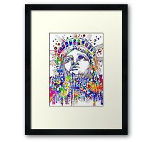 Spirit of the city Framed Print