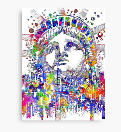 Spirit of the city Canvas Print