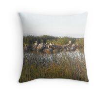 Sunrise Williamstown Wetlands Rifle Range  Throw Pillow