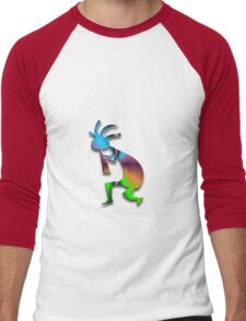 1 Kokopelli #5 Men's Baseball ¾ T-Shirt