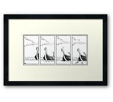 "VIKINGS ""the beach"" Framed Print"