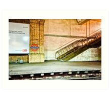 Gloucester Road Tube Station Art Print