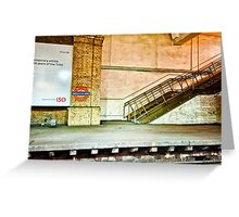 Gloucester Road Tube Station Greeting Card