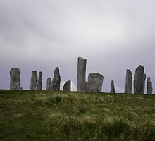 Standing stones of Callanish by Keithydee