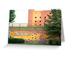 Oklahoma! Greeting Card