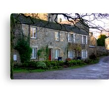 West Burton Cottages Canvas Print