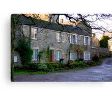 West Burton Cottages Canvas Print