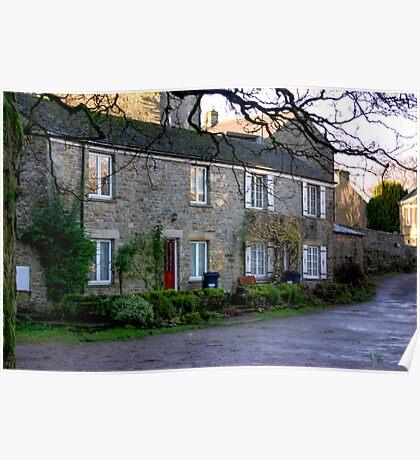 West Burton Cottages Poster