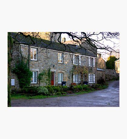 West Burton Cottages Photographic Print